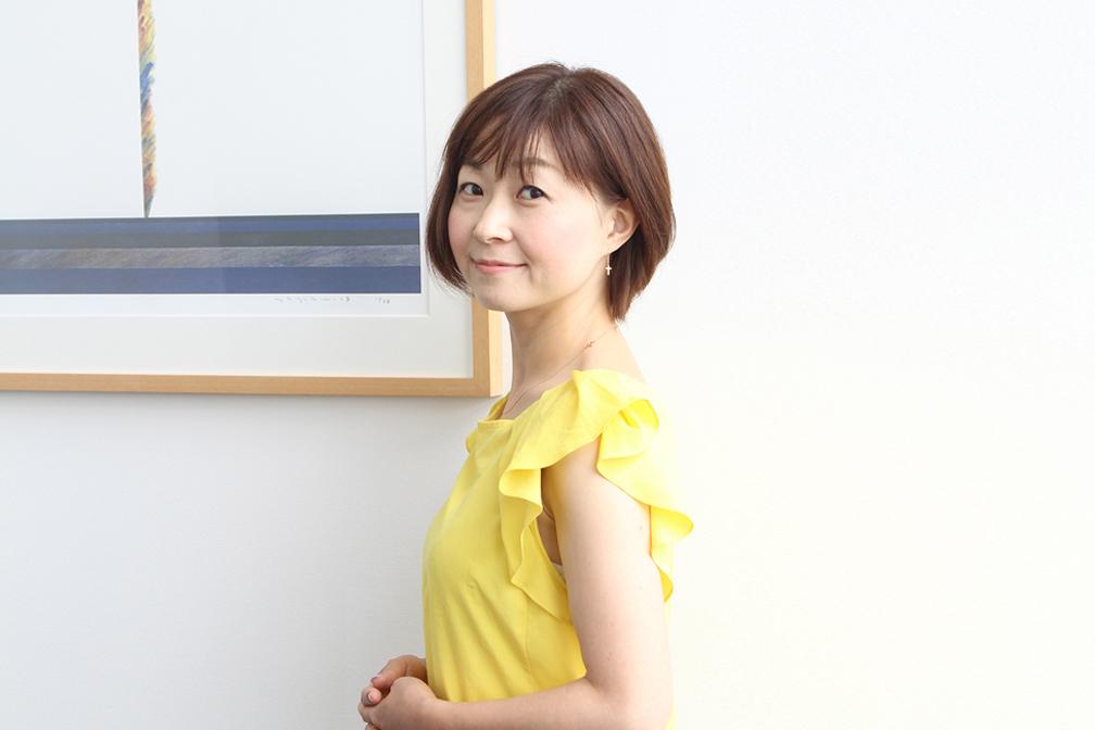 企画統括室企画統括部広報G インターナルコミュニケーショングループ 根岸菜穂子さん