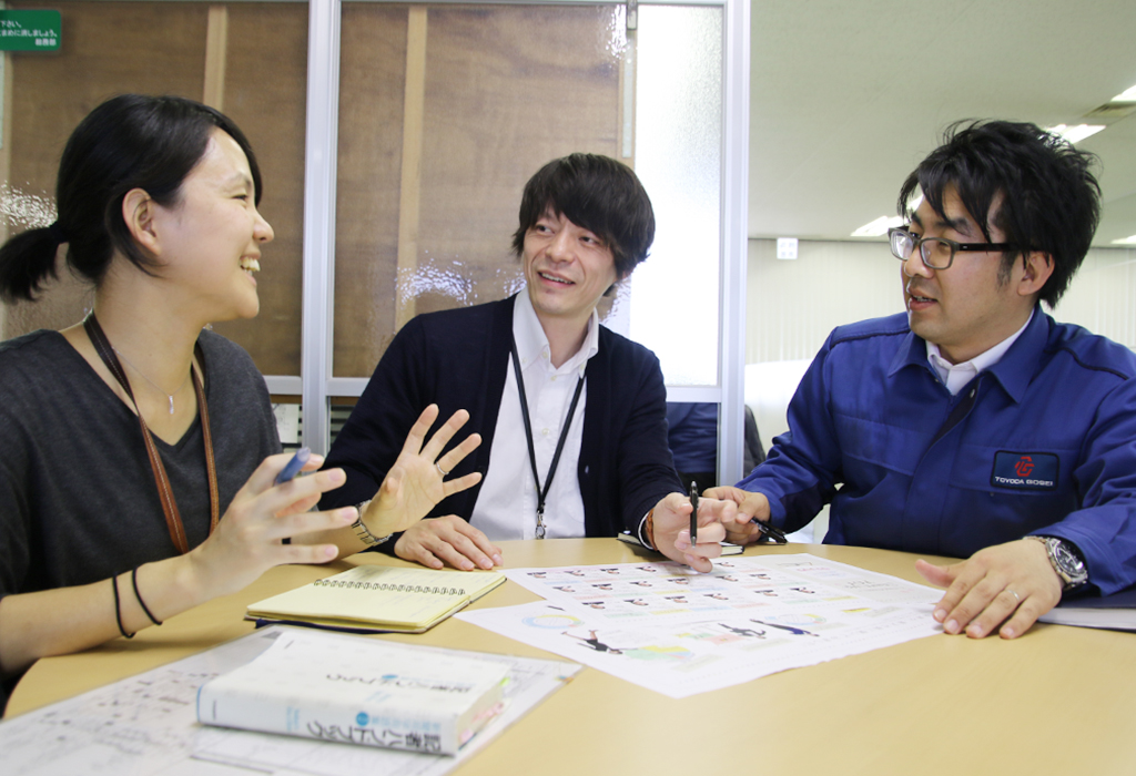 「全従業員が社内ニュース・経営情報などを把握できる環境を整備したい」と語る編集部(企業広報チーム)の皆さん