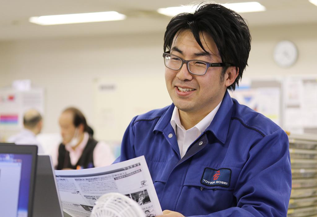 「広報のインド担当」川島さん。また海外取材に行きたいと意欲満々