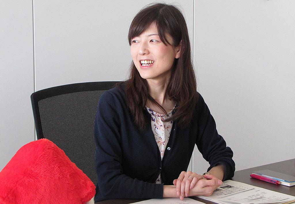 編集部員の齋藤紀子さん