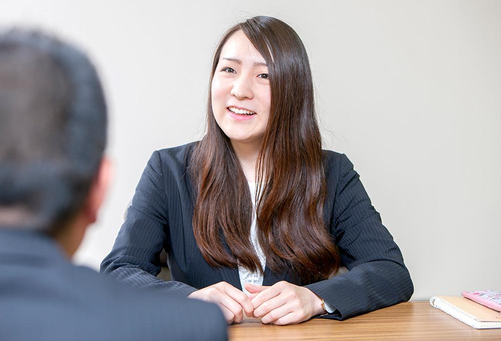 広報グループ発足とともにメンバーに加わった前田さん
