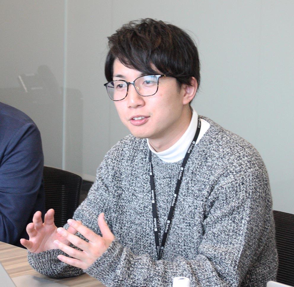 『Biz TV』の制作メンバーのひとり、山本さん