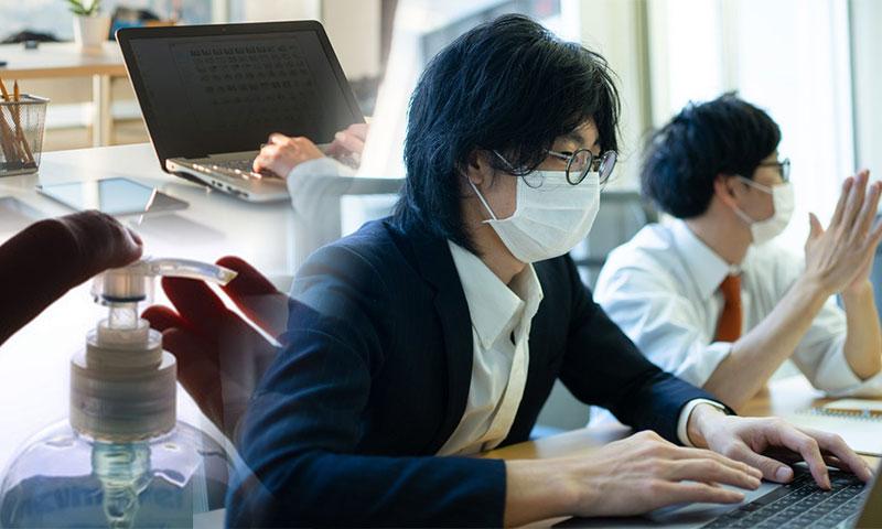緊急企画|新型コロナウイルスから社員を守れ!Web/アプリ社内報活用事例