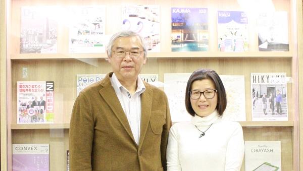 審査員の馬渕さんと古川さん