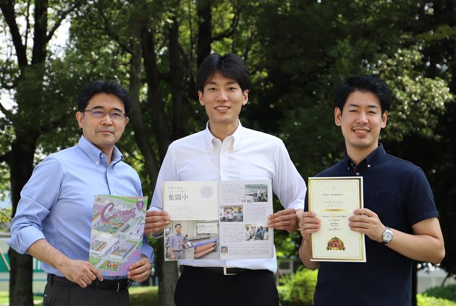 株式会社豊田自動織機で社内報を担当する広報部PRメディアグループの皆さん
