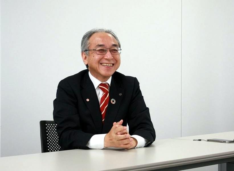 広報室長の平田 豊彦さん