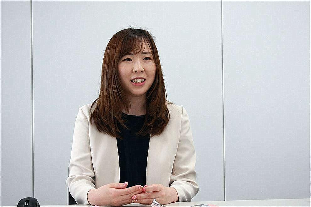 メイン担当は、社内報担当歴7年の堺 友季奈さん